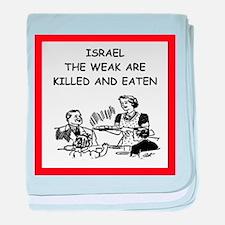 israel baby blanket
