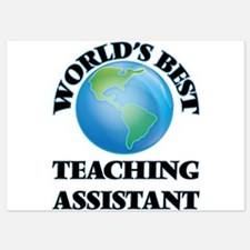 World's Best Teaching Assistant Invitations