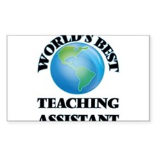 World's Best Teaching Assistant Decal