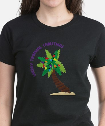 Merry Tropical Christmas T-Shirt