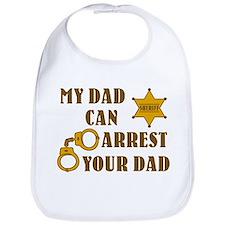 Arrest Your Dad Deputy Bib