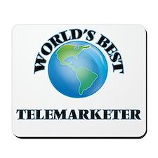 World's Best Telemarketer Mousepad