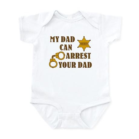 Arrest Your Dad Deputy Infant Bodysuit