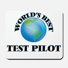 World's Best Test Pilot Mousepad