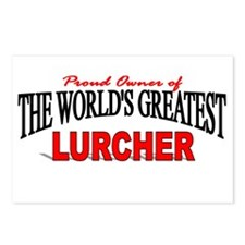 """""""The World's Greatest Lurcher"""" Postcards (Package"""