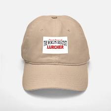 """The World's Greatest Lurcher"" Baseball Baseball Cap"