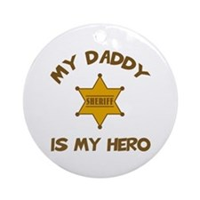Deputy Hero Ornament (Round)