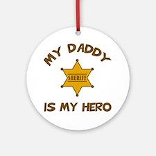 Deputy Hero Ornament (Round)