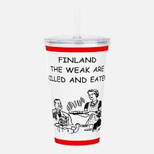 finland Acrylic Double-wall Tumbler