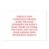 Stress birthday Stationery