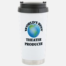 World's Best Theater Pr Stainless Steel Travel Mug