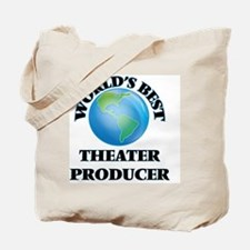 World's Best Theater Producer Tote Bag