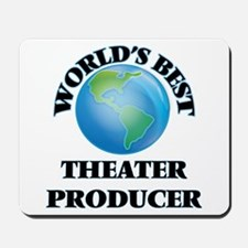 World's Best Theater Producer Mousepad