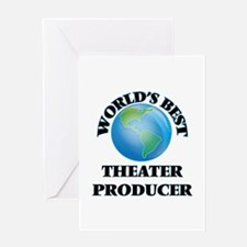 World's Best Theater Producer Greeting Cards