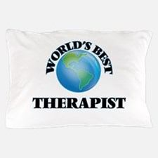 World's Best Therapist Pillow Case