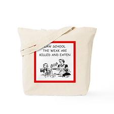 law school Tote Bag