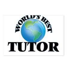 World's Best Tutor Postcards (Package of 8)