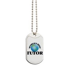 World's Best Tutor Dog Tags