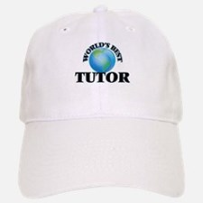 World's Best Tutor Baseball Baseball Cap