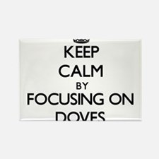 Keep Calm by focusing on Doves Magnets