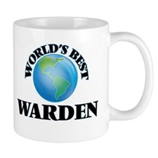 World's Best Warden Mugs