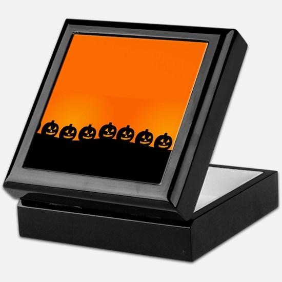 Pumpkins! Keepsake Box