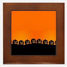 Pumpkins! Framed Tile