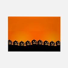 Pumpkins! Rectangle Magnet