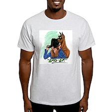 Fawn LOL Ash Grey T-Shirt