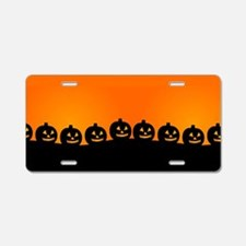 Pumpkins! Aluminum License Plate