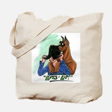 Fawn Great Dane LOL Tote Bag
