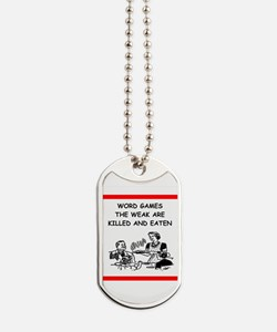 word games Dog Tags