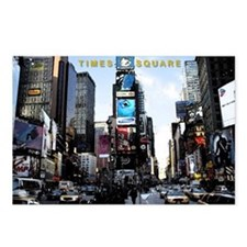 New York City, Times Square Postcards (Pkg of 8)
