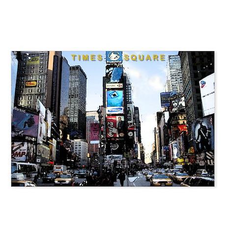 New York City, Times Square Postcards (Pkg of 8)