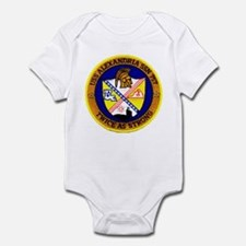 USS ALEXANDRIA Infant Bodysuit