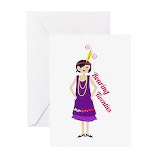 Roaring Twenties Greeting Cards