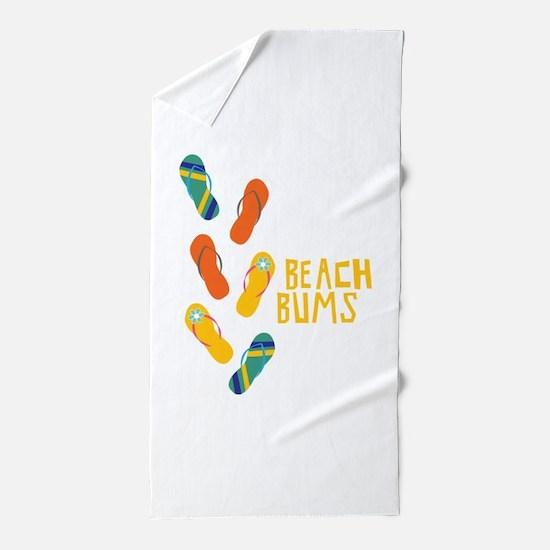 Beach Bums Beach Towel