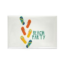 Beach Party Magnets