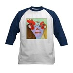 You N Me Babe! Kids Baseball Jersey