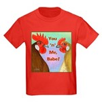 You N Me Babe! Kids Dark T-Shirt