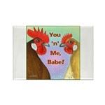 You N Me Babe! Rectangle Magnet (100 pack)