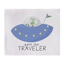 The Traveler Throw Blanket