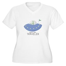 The Traveler Plus Size T-Shirt