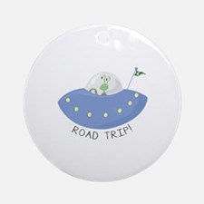 Road Trip Ornament (Round)