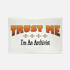 Trust Archivist Rectangle Magnet