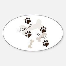 Woof Woof Bumper Stickers