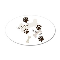 Woof Woof Wall Decal