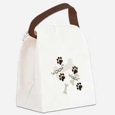 Woof Woof Canvas Lunch Bag
