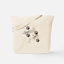 Woof Woof Tote Bag