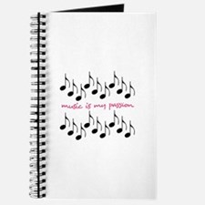 Music Is My Passion Journal